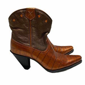 NWOB Twisted X Copper Colored Boots- 7.5